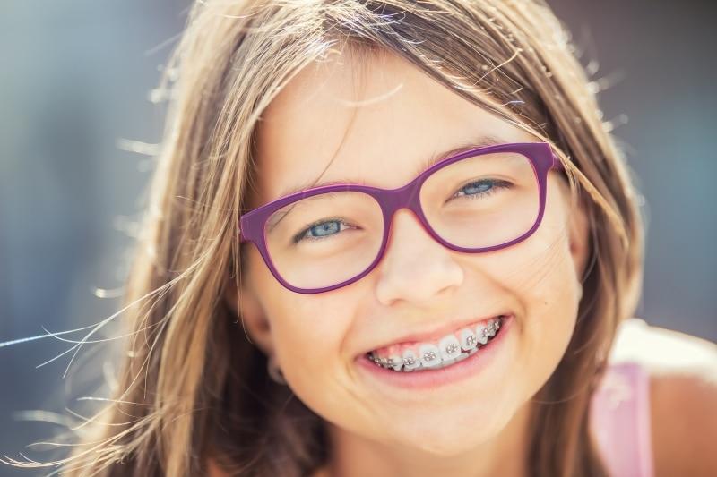 proper oral health child in braces